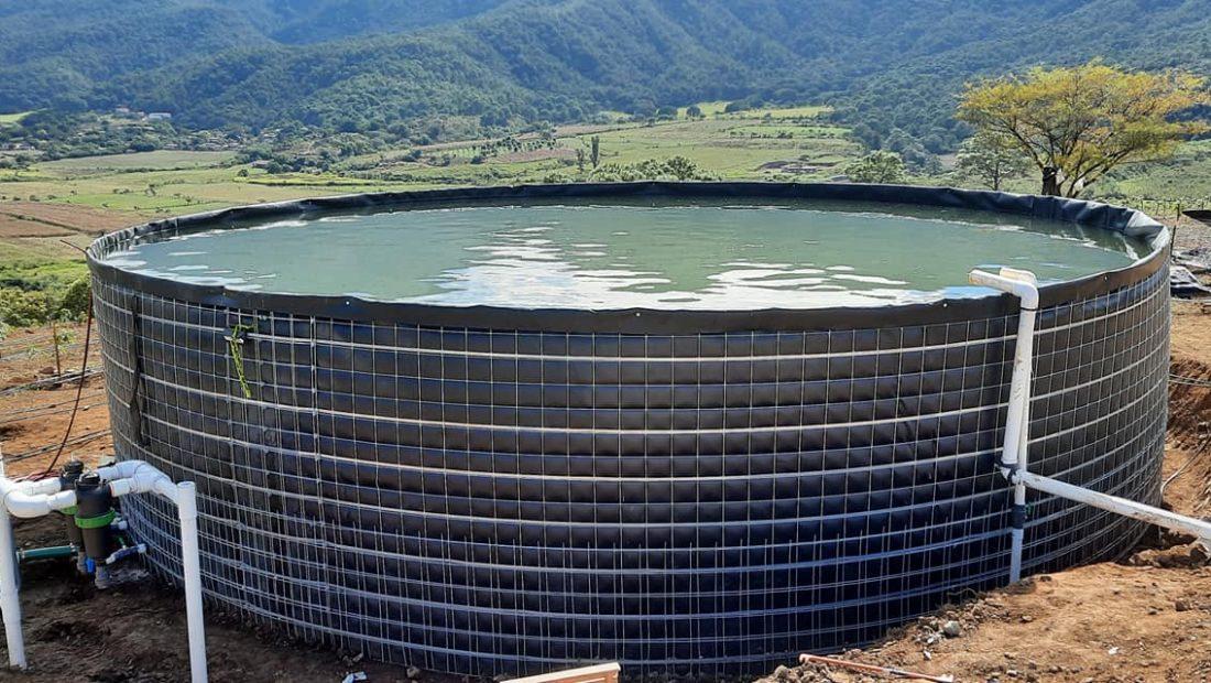 Cómo se instalan los geotanques o tanques de geomembrana