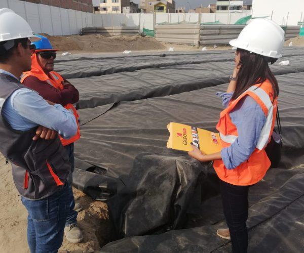 suministro y colocacion de geotextil
