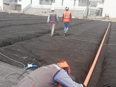 costo x m2 instalacion de geotextiles