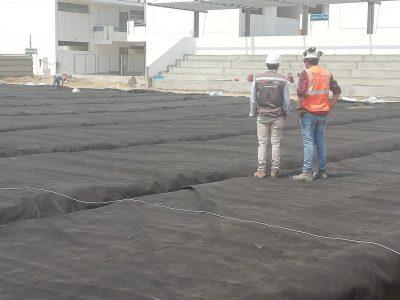 geotextil y geomembrana