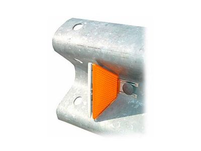 Captafaros para guardavias o barrera metalicas